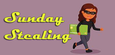 sunday stealing: who I am hates who I've been